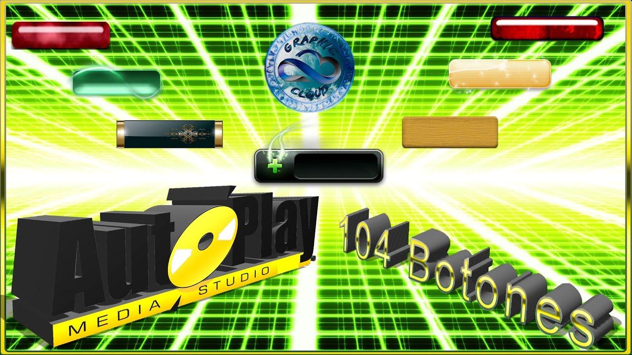 botones para autoplay media studio 7