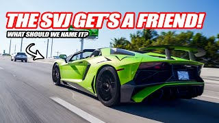 TAKING DELIVERY OF MY NEW LAMBORGHINI AVENTADOR SV! *The SVJ Needed A Friend*