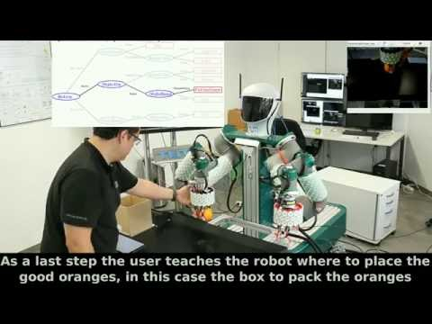 Robotic Technologies for Fast Deployment of Industrial Robot Systems: TOMM sorting fruits