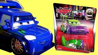 Disney Cars Musical DJ Lights and Sounds Rockin' Ride with Tuners Complete Diecast Collection Mattel