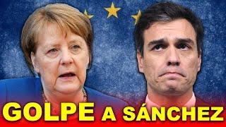 GOLPE de Alemania contra Pedro Sánchez