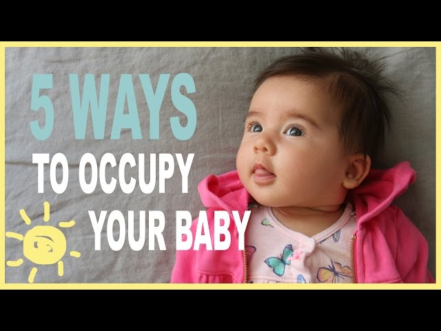 TIPS   5 Ways To Occupy Your Baby (While Occupying Yourself!)