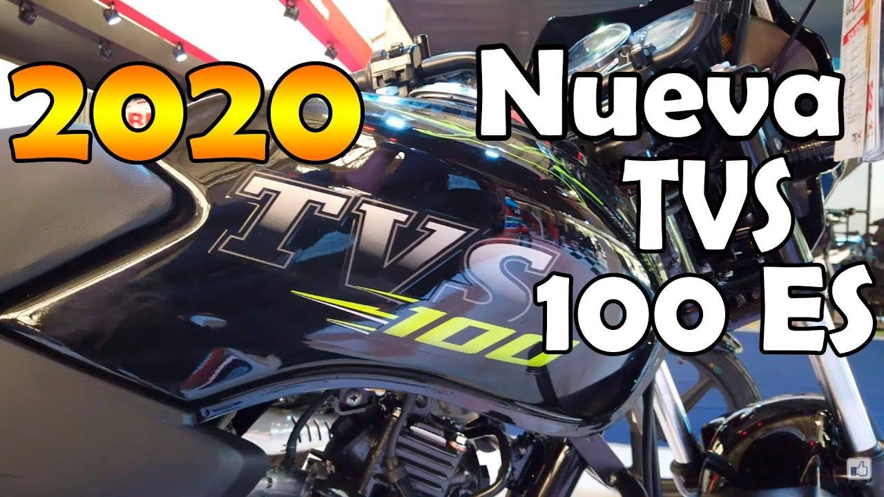 Nueva TVS 100 ES sport 2020 precio Colombia y Características en Detalles