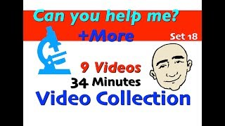 Can you help me? + More | Video Collection - 18 | English For Communication - ESL