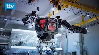 De película: en Corea ya están probando los Mechas, robots tripulados por personas