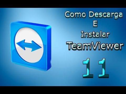 Como Descargar E Instalar Team Viewer 11 Full 2016
