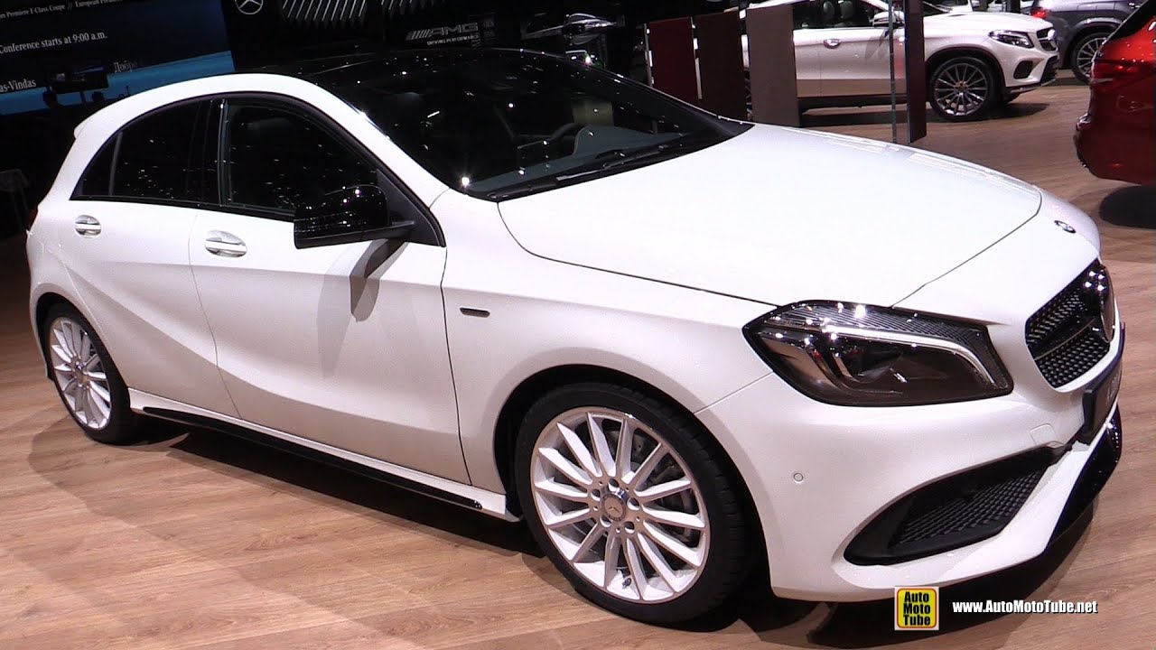 2017 mercedes a220 4matic exterior and interior walkaround 2017 geneva motor show youtube. Black Bedroom Furniture Sets. Home Design Ideas