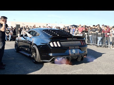 The LOUDEST Mustang DESTROYS the REV BATTLE