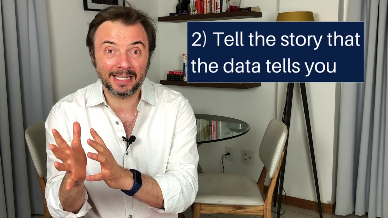 "The ""Good to Great"" reason for storytelling in your presentations and a tip on doing it with data"