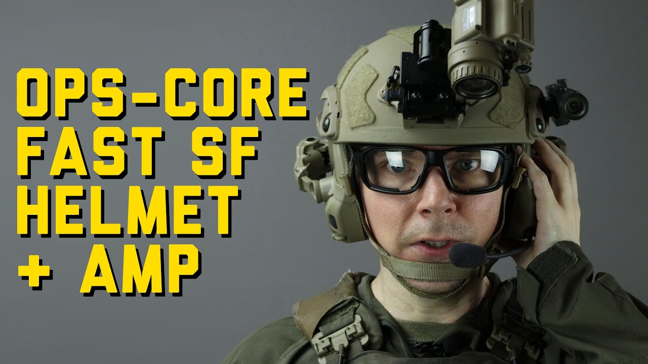 Ops Core Helmet Setup