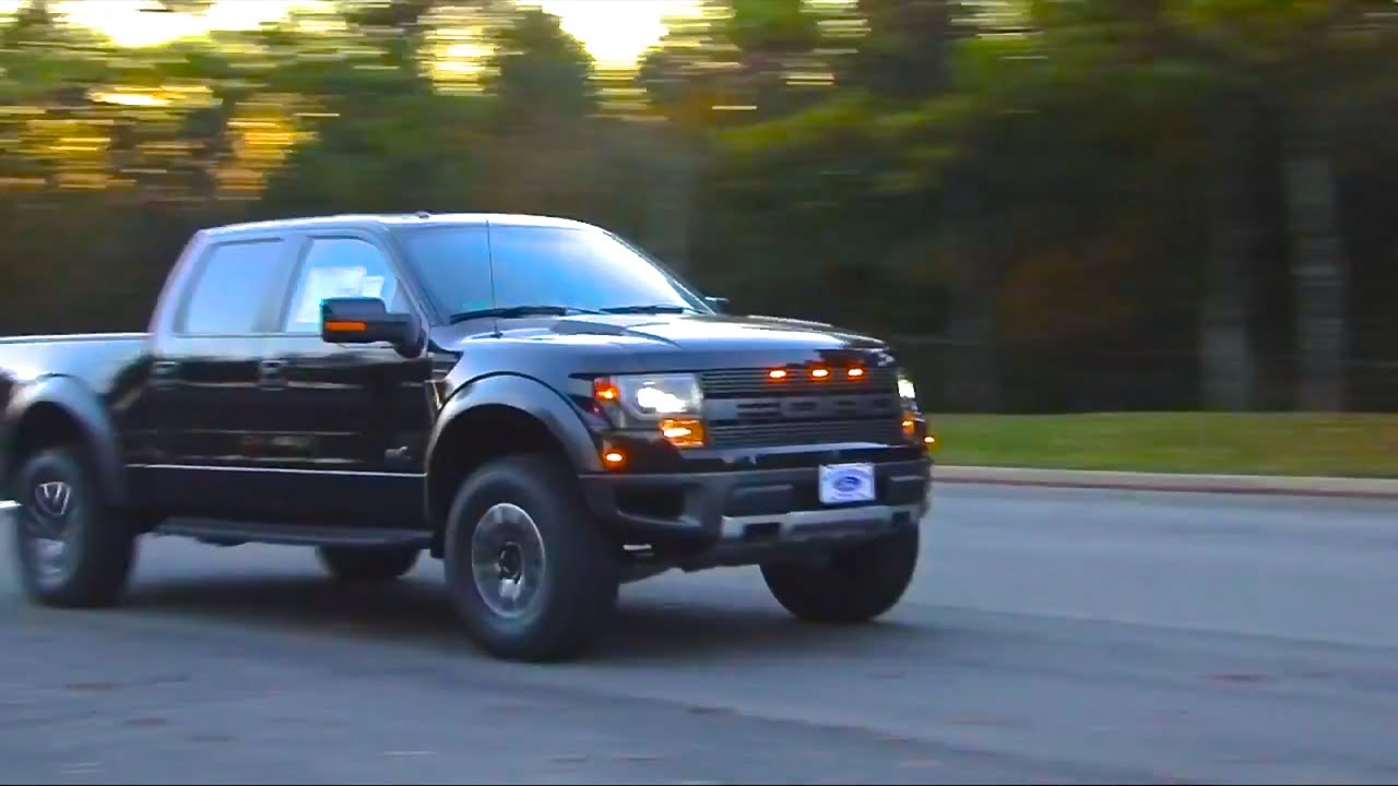 2013 Ford Raptor Supercharged by Roush Performance Exhaust video ...