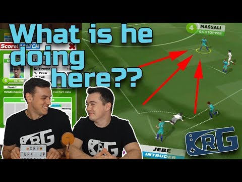 E042 - CRG, Score! Match - Keeper on the field? Can we score with him?