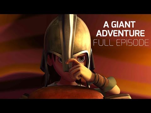 Superbook - A Giant Adventure - Season 1 Episode 6 - Full Episode (Official HD Version)