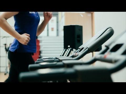 Реклама фитнес-центра в спорткомплексе Восток, г. Гродно