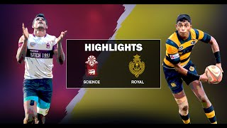 Match Highlights - Science College v Royal College - 2019