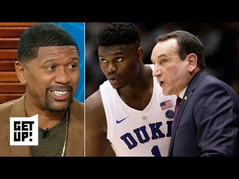 Jalen Rose is confident Zion, Duke will bounce back after losing to Syracuse | Get Up!