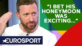 Bradley Wiggins' FURIOUS Rant About Lack of Support for Roglič | Giro d'Italia 2019 | Eurosport