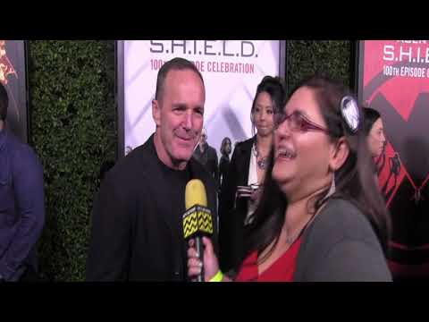 Agents of SHIELD 100th Episode Celebration  with Clark Gregg