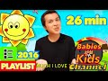 YOU ARE MY SUNSHINE 2016 PLAYLIST | Babies and Kids Channel | Nursery Rhymes for children