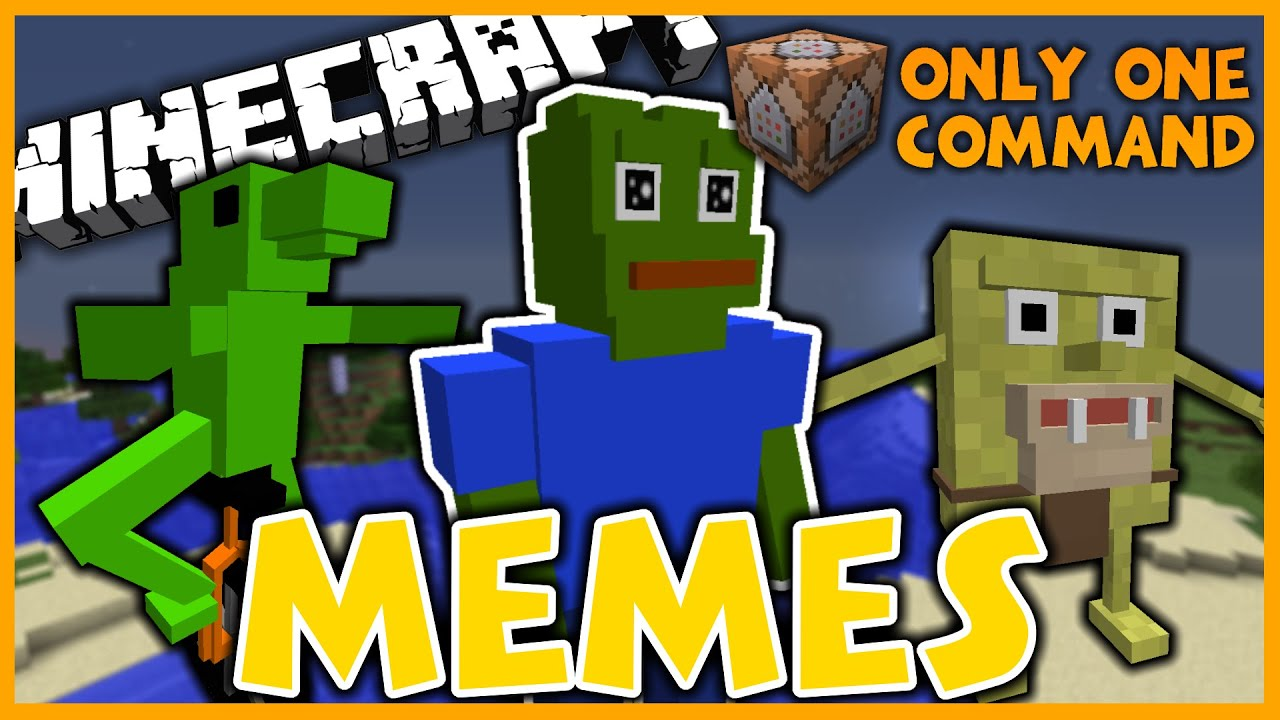 Minecraft Memes In One Command | Hairrs us