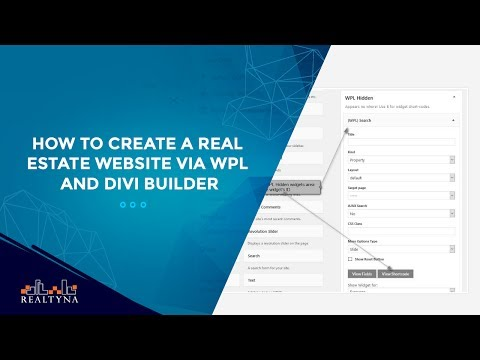 How to create a real estate website via WPL and Divi Builder