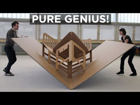 PURE GENIUS! 6 GREAT SPACE SAVING FURNITURE COLLECTIONS