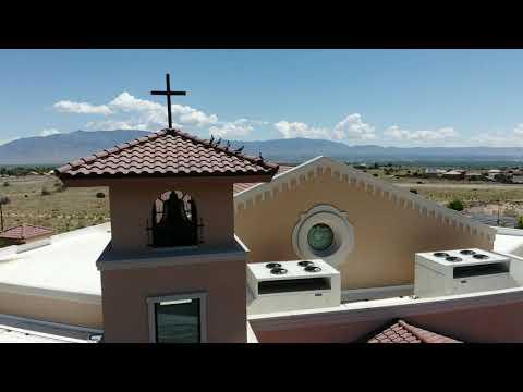 At St. Jude's Catholic Church, Albuquerque, NM
