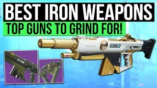Destiny 2 | best iron banner weapons! - top weapons to grind for in the iron banner!