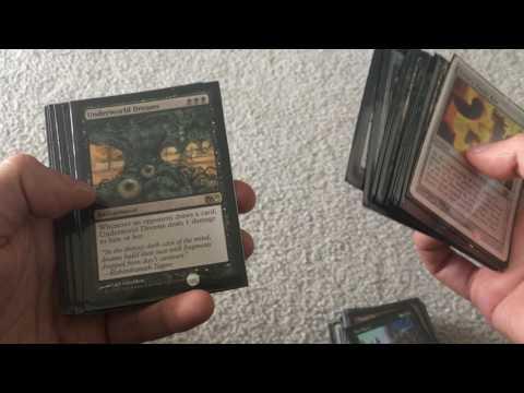 Magic The Gathering - Underworld Dreams (Monoblack Creature-less) Deck Analysis