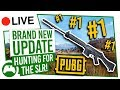 PUBG Live! Brand New Update | Hunting For The SLR!