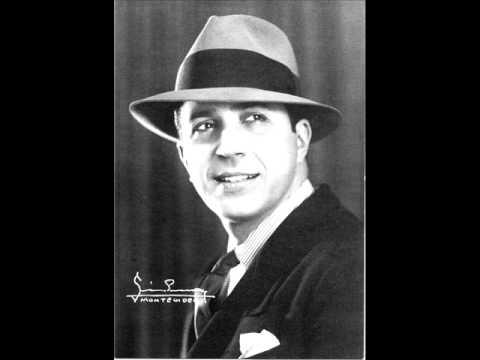 """Carlos Gardel,""""'Por una Cabeza""""With some lyrics(tango)"""