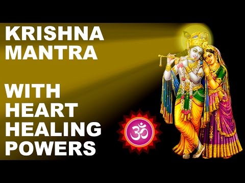TRANSCENDENTAL KRISHNA MANTRA BHAJAN : BRING KRISHNA TO YOUR HEART : AMAZING HEART HEALING POWERS