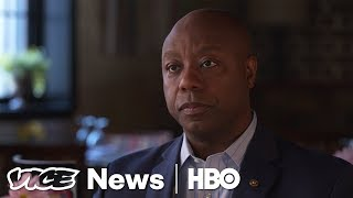 """Trump's """"moral authority is compromised"""" says Sen. Tim Scott (HBO)"""