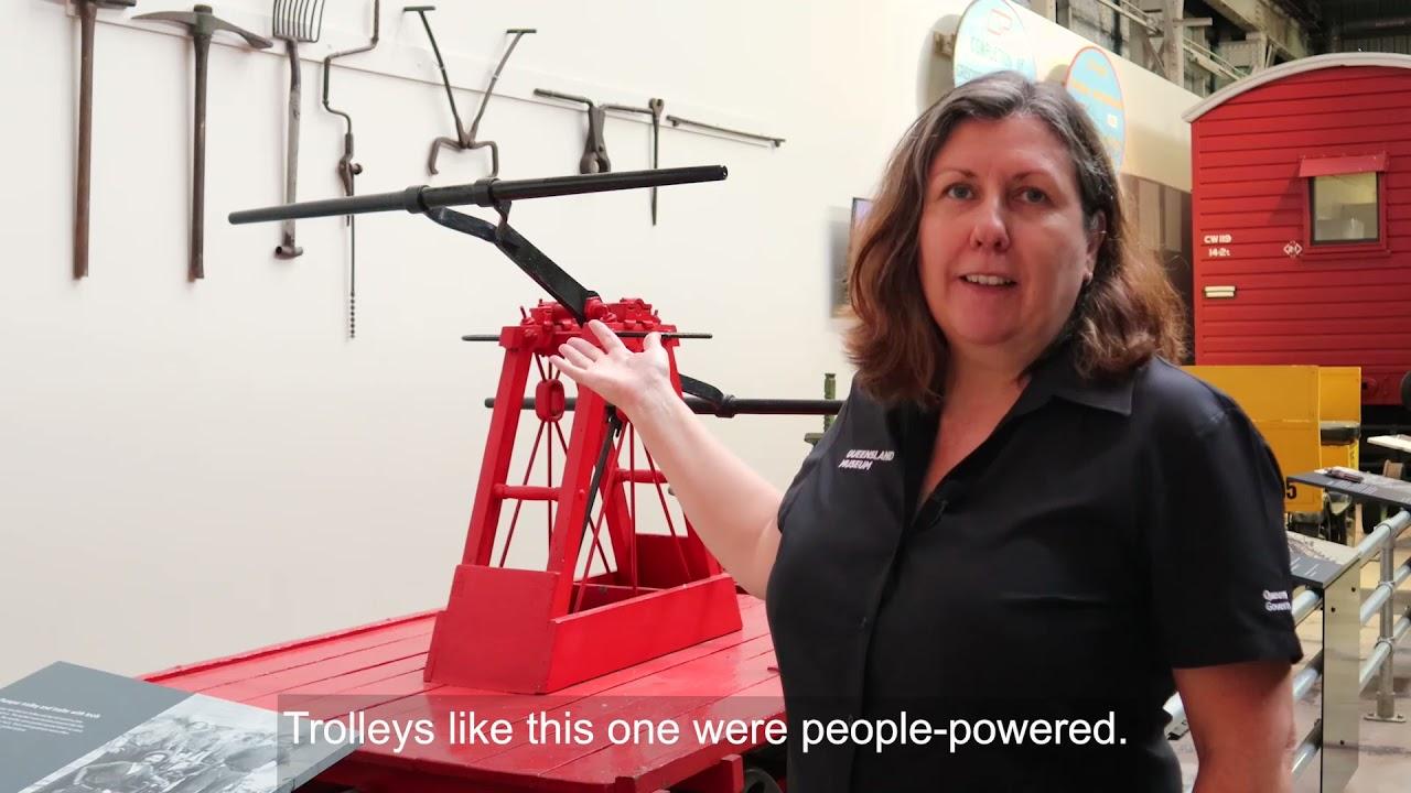 Little Learners | Pumper Trolley | Queensland Museum Network