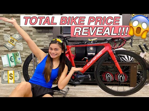 MY ROAD BIKE PRICE REVEAL | WORTH IT BA?! by Aira Lopez