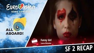 Eurovision 2018 | Recap of Semi Final 2 [voting closed]