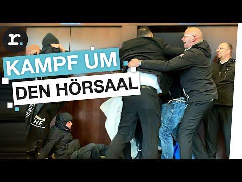 Zwangsvorlesung bei AfD-Gründer Lucke an Uni Hamburg | feat. MrWissen2go | reporter