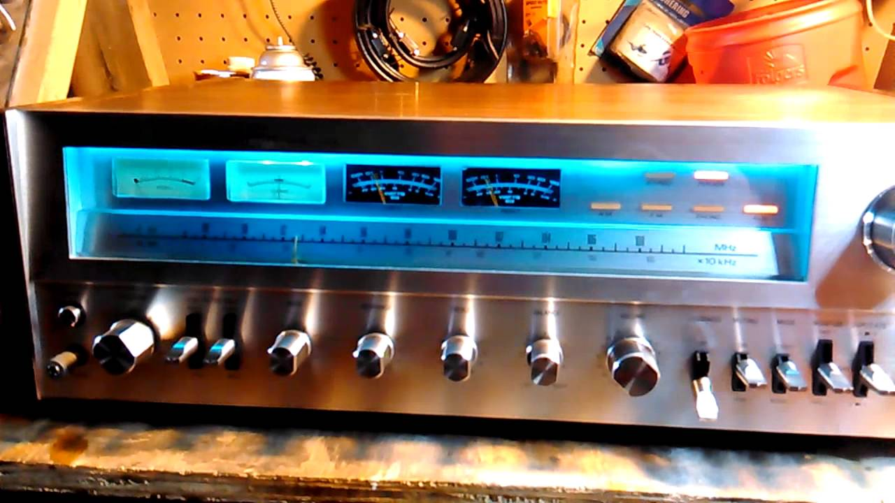 Pioneer Stereo Receiver >> Project/one Mark IV B with Pioneer 880 power meter mods. Blue led bulb replacement - YouTube