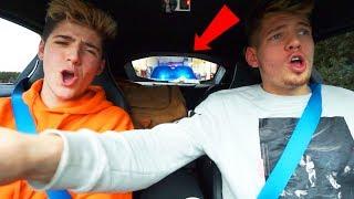 BROTHER TEACHES ME TO DRIVE (BMW i8)