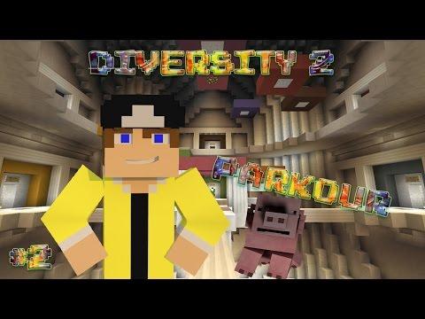 [Прохождение карт в Minecraft] - Diversity 2 | #2 Кошелек облажался...(Parkour)