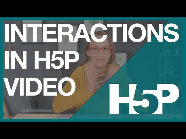 H5P Interactive Video - examples of all interactions.