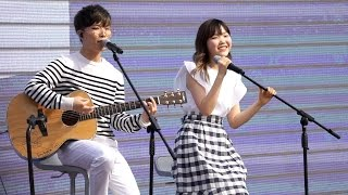 악동뮤지션(AKMU) - Give Love + 작은별(Little Star) + 다리꼬지마(Don't Cross Your Legs) Live @서울숲, 새앨범 청음회_160505
