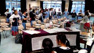 顯理中學合唱團音樂節練習