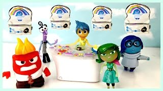 Disney Pixar's Inside Out Control Panel! Disgust Anger Sadness Joy Fear