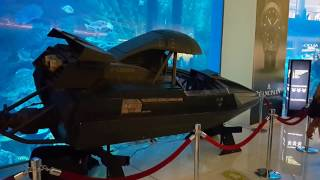 James Bond 007 boat at Dubai Aquarium 16.11.2016