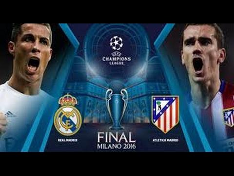 Final Champions League 2016 / Real Madrid 1 - 1 Atletico de Madrid /  Goles & Penaltis / Audio COPE