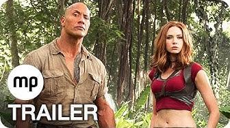 Jumanji: Willkommen im Dschungel Trailer German Deutsch (2017) Exklusiv