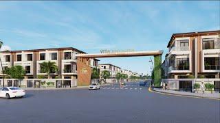 Dự án  VITA Riverside - Khu nhà ở Tuấn Điền Phúc - Vĩnh Tân, Thị xã Tân Uyên, Tỉnh Bình Dương