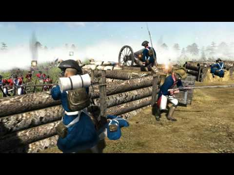 American Revolutionary War - Men of War Cinematic