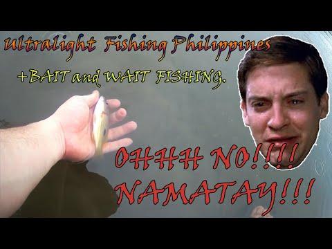 Ultralight Fishing Philippines Vlog # 4 (Fishing Sa Ulan +  Bait & Wait)